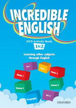 Incredible English 2ed. 1 DVD Activity Book (Level 1 & 2)